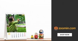 Zoomin Zoomin Offer : Get Flat 30% Discount on All Photo Calendars