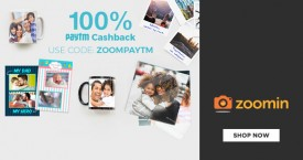 Zoomin Zoomin Paytm Offer : Get 100% Paytm Cashback From Zoomin
